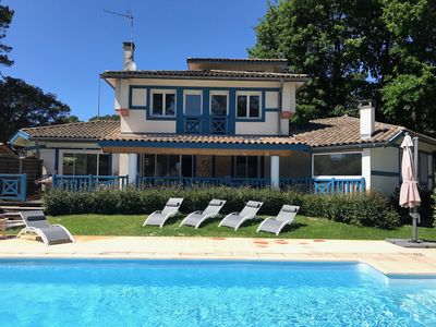Photo for HOSSEGOR LARGE VILLA WITH SWIMMING POOL