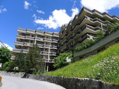 Photo for Apartment in the center of Leukerbad with Lift, Parking, Washing machine, Balcony (46101)