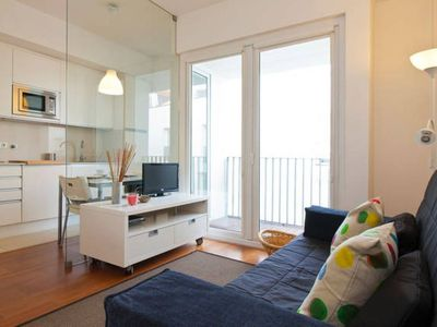 Photo for Spacious Santa Catarina apartment in Bairro Alto with WiFi & balcony.