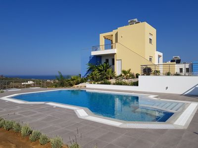 Photo for New villa with private pool and stunning sea views