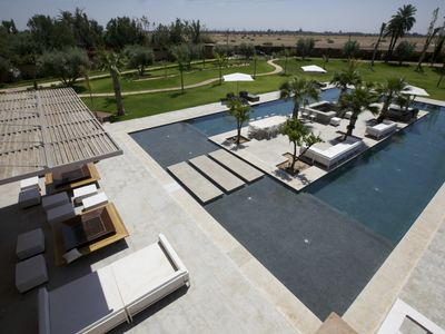 Photo for Luxury villa in the Palmeraie of Marrakech