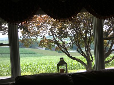 Photo for Tranquil, Scenic Farm View Guest House in the Heart of Lancaster Amish Country
