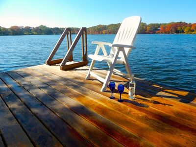 Photo for Summer Dreams - Waterfront Home on Skinnequit Pond with dock