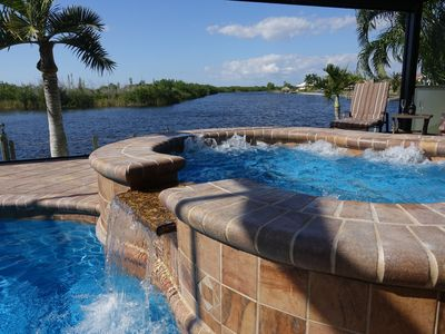 Photo for Your Dreamhome next to a Nature Preserve on Saltwater Canal, Pool & Spa, Kayak