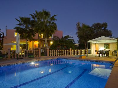 Photo for Ibiza Villa Ruly Fantastic location with large swimmingpool and land very quiet