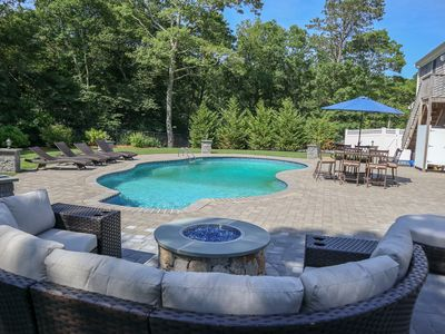 Photo for Modern Harwich Home with Heated Salt Water Pool; 001-HR