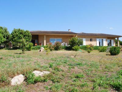 Photo for Magnificent new villa, 150m from the sea