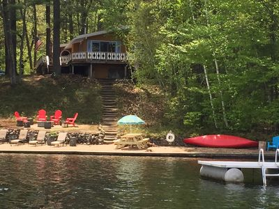 Astonishing Lakefront Chalet In The White Mountains 3 Bedrooms Sleeps 6 Nh License 044583 Conway Interior Design Ideas Gentotryabchikinfo