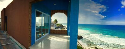 Amazin 360 degree views of the island, Caribbean and Yukatan Peninsula - WOW!