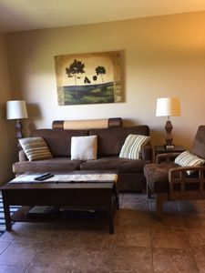 Photo for Kelowna (One bed/den) Wkly rental May 1 to Aug 31,2020.  Long term Sept 1 to Apr 30, 2021