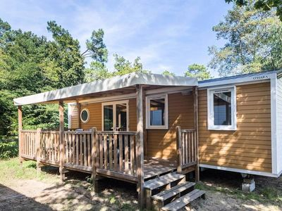 Photo for Camping Club Pinède **** - Mobil Home Privilege TV Clim 4 rooms 6 Persons