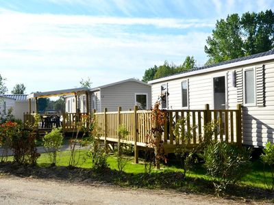 Photo for Camping Le Domaine d'Inly ***** - Mobile Home 4 Rooms 6 People