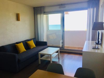 Photo for Beachfront residential flat (4p) in Hossegor with pool + parking + bikes