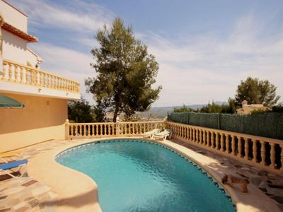 Photo for 3 bedroom Villa, sleeps 6 in Javea with Pool