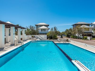 "Photo for Seagrove 30A ""Seanest Serenity"" Luxury Beach Life Infinity Pool and Beach Access"