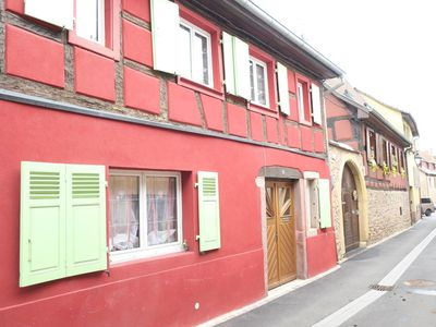 Photo for Superb Alsatian house in the heart of the old town of Turckheim