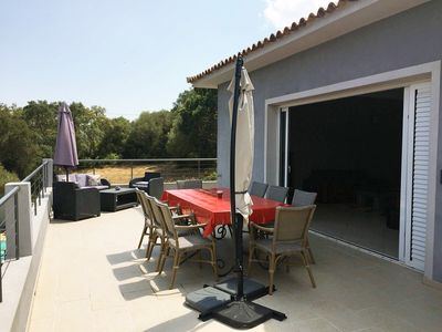 Photo for MAGNIFICENT VILLA 5 CH. QUIET AIR CONDITIONED WITH PRIVATE POOL 8/10 PERS.