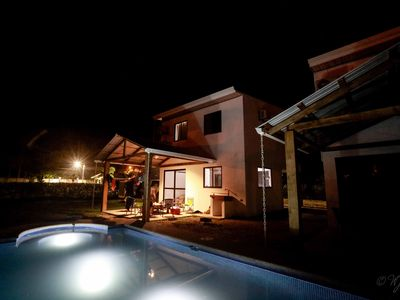 Photo for Comfortable New Villa Near Pacific,  Private Pool with Waterfall!