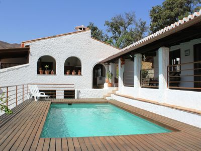 Photo for Atmospheric holiday home consisting of two parts and with private swimming pool