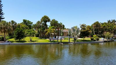 Beautiful Siesta Key home on the Grand Canal, 700 yards from the beach