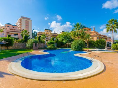 Photo for CAN XISCO - Apartment with shared pool in Cales de Mallorca.