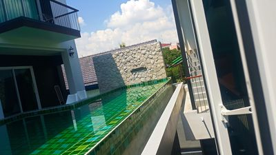 Photo for 3BRs 5 BathRms with private pool in BKK, 3 km to metro ,9 km to BKK airport