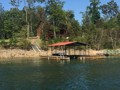 Photo for Fabulous Lake Front Cabin in the Beautiful North GA Mountains