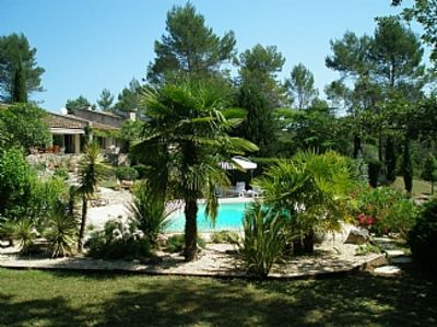 Photo for Fabulous Stone Villa With Private Large Heated Pool And Private Tennis Court