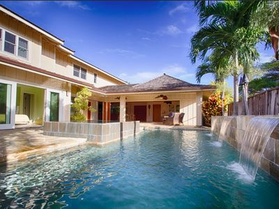 Photo for Luxury Home in Gated Community Steps from Kailua Beach
