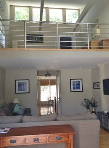 Photo for Spacious Loft Townhouse with Private Garden & Gas Fireplace-Central Location