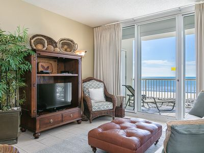 Photo for Gorgeous Condo Gulf-Front Condo, Secluded distance from Fort Morgan Beaches, Multiple On-site Pools