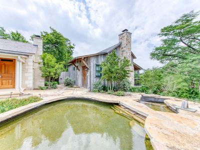 Photo for Refined cottage w/ private hot tub & reclaimed barn details