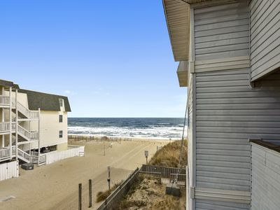 Photo for OCEANFRONT  Enjoy Ocean Winds in this attractively decorated condo in Kill Devil Hills!