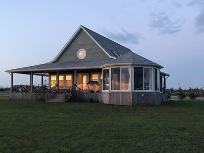 Photo for Beautiful, private, family friendly Beach House on Malpeque Bay