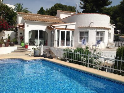 "Photo for "" Castell Cruella "" fabulous boutique villa Just 270m from Beach with private po"