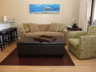 ** Updated Waikiki Banyan 1 bedroom, Ocean View, High Speed Internet, sleeps 4