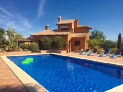 Photo for Luxury Detached Villa  Private Pool & Large Garden 5 Mins Walk Of All Amenities