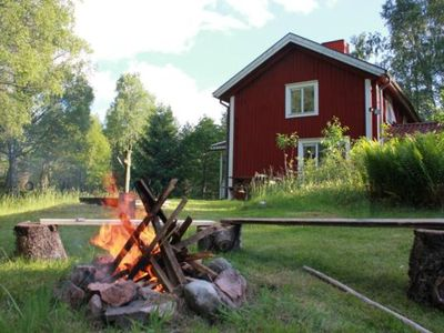 Photo for Holiday house Sävsjöström for 7 - 9 persons with 3 bedrooms - Farmhouse