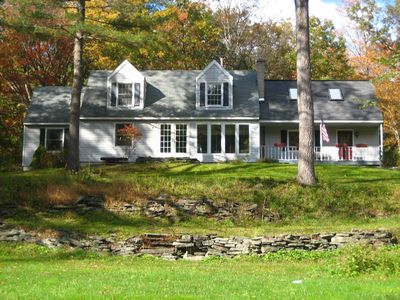 Photo for Spacious Private River Retreat-with Fishing, Views and Hot tub