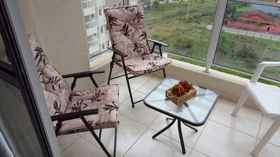 Photo for Cozy apartment with balcony 200m from the beach