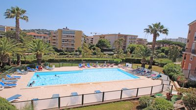 Photo for Apartment T3 - 4/6 people - Swimming pool residence - Air conditioning - Wifi - Sainte Maxime