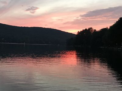 Photo for Beautiful Lake Front Get-A-Way Close to Colleges for Graduations and Cooperstown