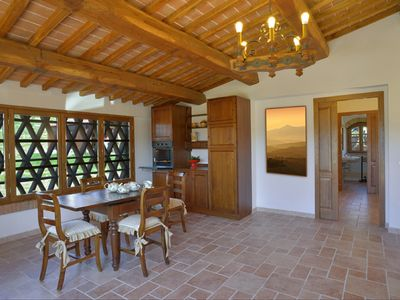 Photo for Nice apartment of 65 square meters in typical Tuscan farm building, nice finish.