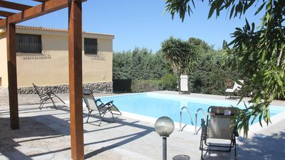 Photo for Large Private Villa, Large Garden, Private Swimming Pool, FREE WiFi (12Gb PM)