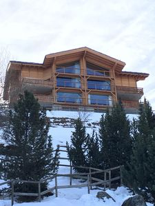 Photo for Fabulous 220 sqm luxury penthouse chalet with spectacular views over Valais