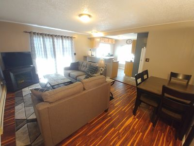 Photo for Spacious updated Condo. New furnishings & clean! Close to Breck! Stocked & comfy