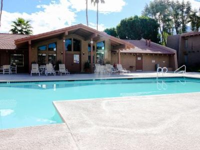 Photo for Near Downtown,  2 Pools, Spa, 6 Tennis Courts, Gated Entry, WiFi And Cable