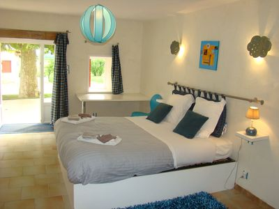 Photo for The rooms of Agathe, Côte de Brouilly reduced mobility