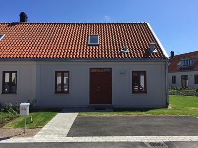 Photo for Newly built house in Torekov with tennis court, golf course and pool (open in summer)