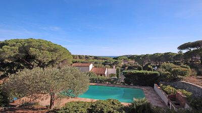 Photo for Villa 10 people - Sea view - Private pool - WiFi - Sainte Maxime